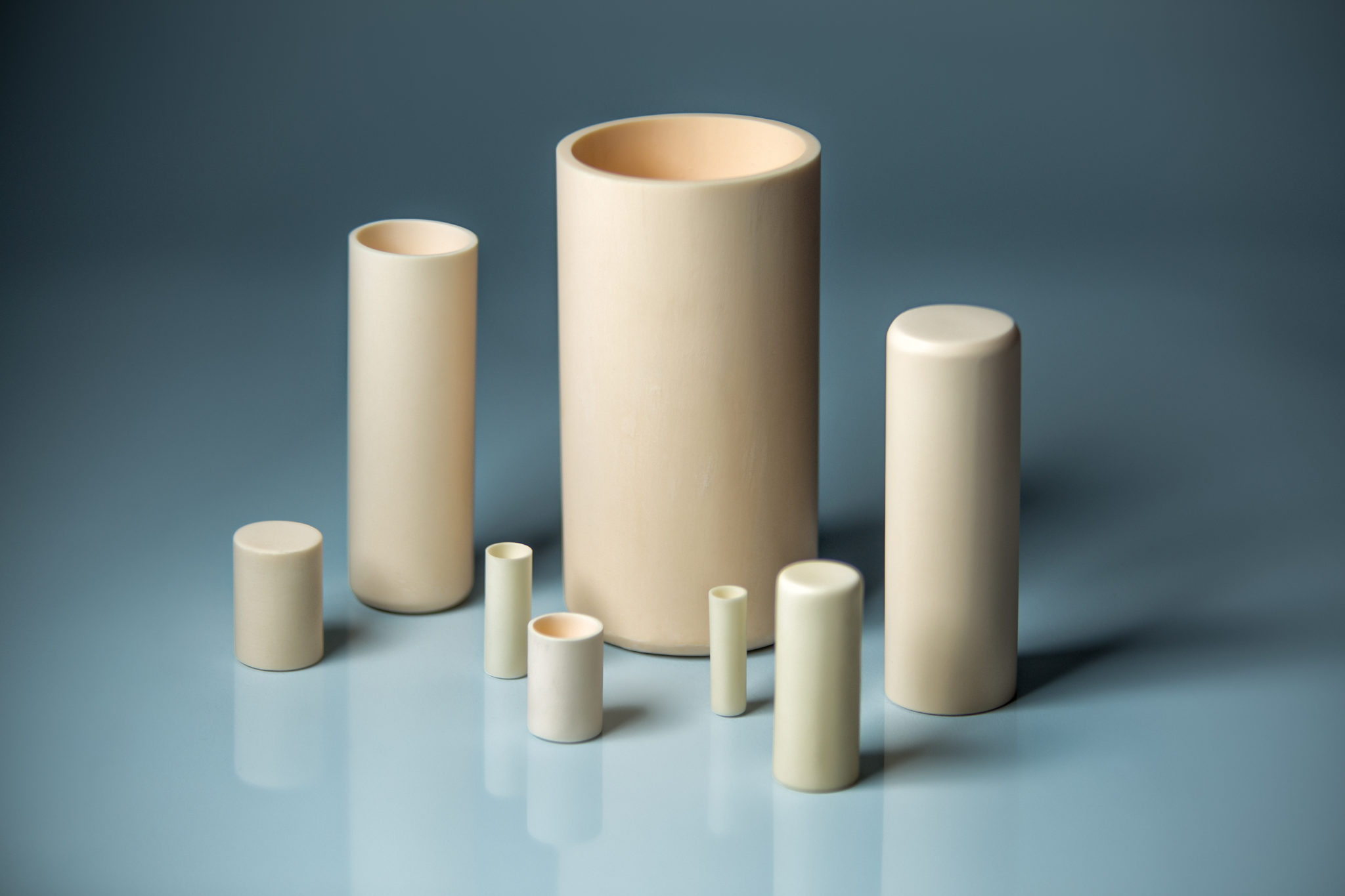 Alumina Cylindrical Cruicible