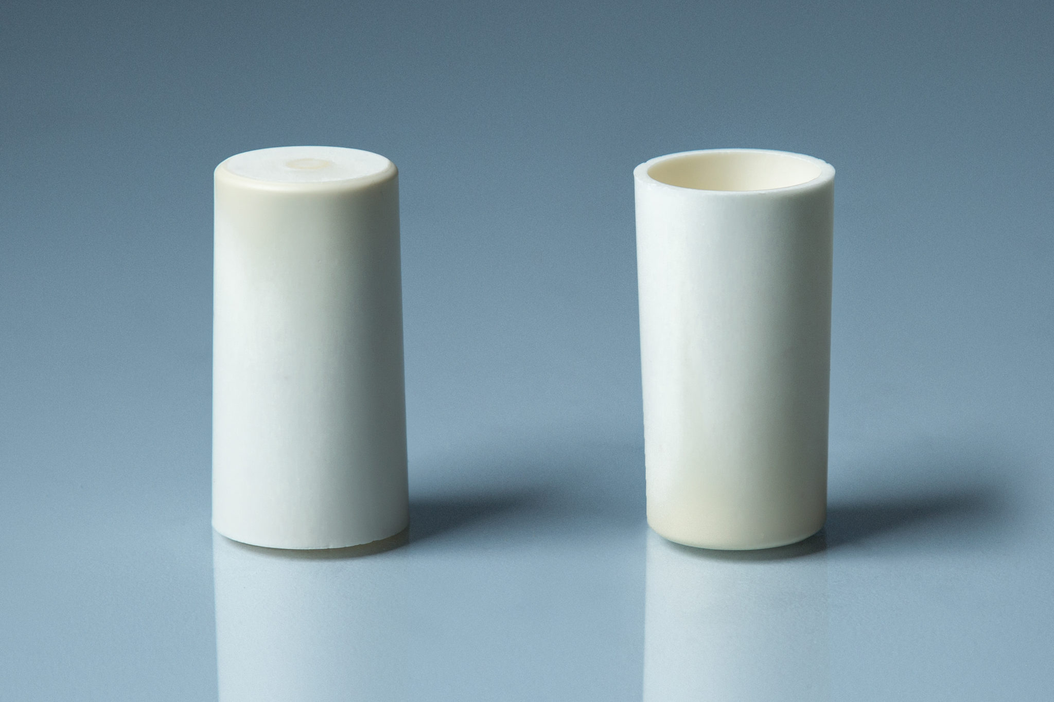 Alumina Flat Bottom Crucible Conical