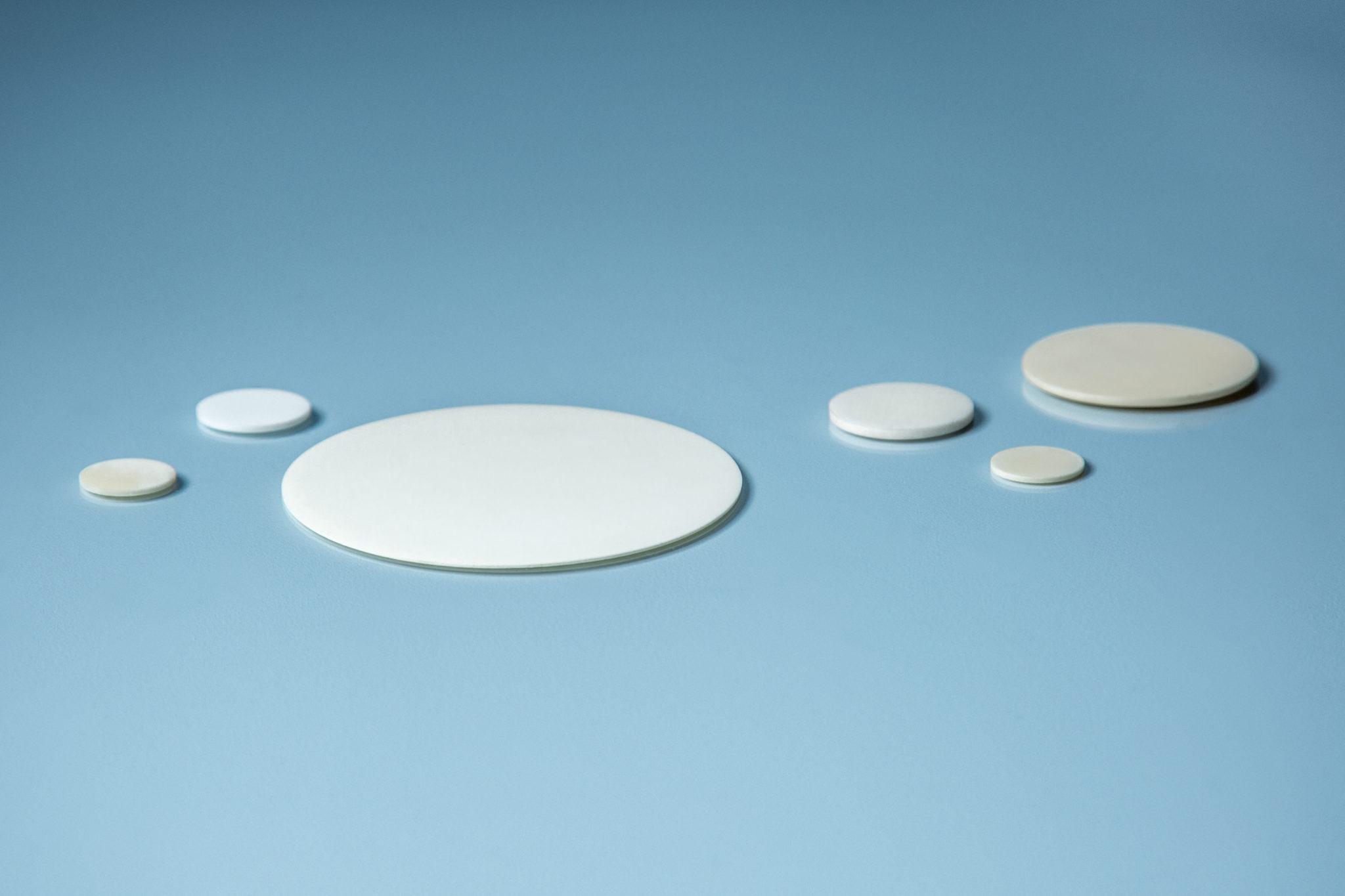 Alumina Round Disc