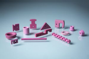 Pink Alumina Ceramic Labware