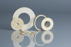 alumina ceramic washers multiple shapes