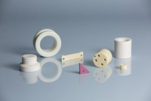 mixed alumina ceramic materials